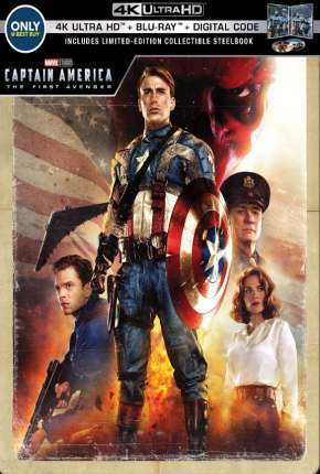 Capitão América - O Primeiro Vingador 4K Remux Torrent Download
